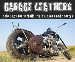Garage Leathers Solo Bags
